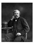 Edmond De Goncourt, from 'Galerie Contemporaine', C.1874-78 Giclee Print by  Nadar