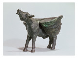 Statuette of a Donkey Braying, Roman, 1st-2nd Century Ad Giclee Print