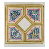 Design for the Ceiling of the House of Commons Giclee Print by Augustus Welby Northmore Pugin