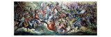 Battle Between Native American Indians and Soldiers Giclee Print by Ron Embleton