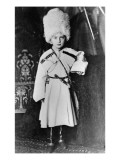 Portrait of Grand Duke Nicholas Mikhailovich of Russia Giclée-tryk af Russian Photographer