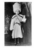 Portrait of Grand Duke Nicholas Mikhailovich of Russia Giclée-tryk af  Russian Photographer