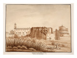 Hippodrome of the Family of Constantine, Via Nomentana, 1833 Giclee Print by Agostino Tofanelli