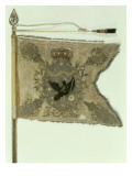 Flag of the Prussian Infantry under Frederick the Great Giclee Print by  German School