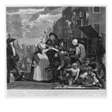 Arrested for Debt, Plate V from 'A Rake's Progress', 1735 Giclee Print by William Hogarth