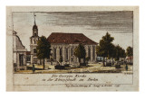 The Church of St. George in Konigsstadt, Berlin, 1797 Giclee Print by F.A. Calau