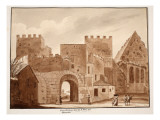 The Porta Ostiensis or San Paolo, Built by Honorius, 1833 Giclee Print by Agostino Tofanelli
