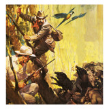 The President Who Loved Adventure: Theodore Roosevelt Giclee Print by  McConnell