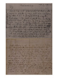Letter from Leopold Mozart Informing J.J. Lotter of the Birth of His Son, Amadeus Mozart Giclee Print by  Mozart
