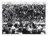 John L. Sullivan V. Jake Kilrain at Richburg, Mississippi on 18th July, 1889 Giclee Print by American Photographer
