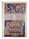 Ms R.16.2 Fol.7A the Sixth Seal, from the Trinity Apocalypse, C.1250 Giclee Print by  English School