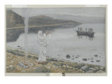 Christ Appears on the Shore of Lake Tiberias Giclee Print by James Jacques Joseph Tissot