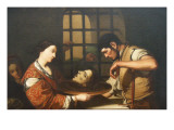 Salome with the Head of John the Baptist Giclee Print by  French School