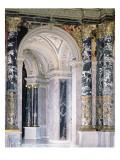 Interior of the Kunsthistorisches Museum in Vienna, Detail Depicting Archway Giclee Print by Gustav Klimt