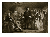 Flora Macdonald's Introduction to Prince Charlie Giclee Print by Alexander Johnston