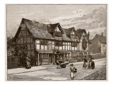 The House at Stratford-On-Avon, Where Shakespeare Was Born Giclee Print by C.a Wilkinson