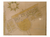 Plan of the Villa Del Poggio Imperiale Giclee Print by Giuseppe Ruggieri