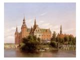 Frederiksborg Castle, Denmark, 1848 Giclee Print by Ferdinand Richardt
