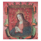 The Original Banner of Hernan Cortes Giclee Print by  Spanish School