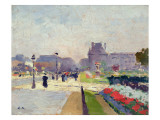 Avenue Paul Deroulede, Tuileries, Paris Giclee Print by Jules Ernest Renoux