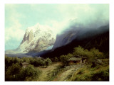 The Matterhorn, Switzerland Giclee Print by Hermann Herzog