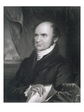 Levi Woodbury, Engraved by Robert E. Whitechurch Giclee Print by James Barton Longacre