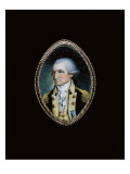 Portrait of George Washington, 1789 Giclee Print by John Ramage