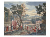Turkish Marriage Procession, 1712-13 Giclee Print by  Scotin