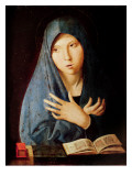 The Annunciation, C.1473-74 Giclée-tryk af Antonello da Messina