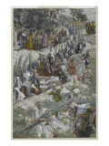 The Procession on the Mount of Olives Giclee Print by James Jacques Joseph Tissot