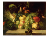 Still Life of Fruit and Vegetables Giclee Print by Theodore Gericault