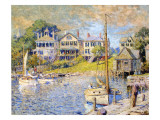 Edgartown, Martha's Vineyard, 1915 Giclee Print by Colin Campbell Cooper