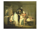 The Visit to the Child at Nurse, C. 1788 Giclee Print by Morland