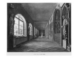 View of the Cloister, Musee Des Monuments Francais, Paris Giclee Print by Jean Lubin Vauzelle