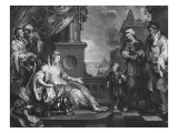 Moses Brought to Pharoah's Daughter, C.1752 Giclee Print by William Hogarth