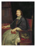 Portrait of a Cleric, Said to Be Jean Francois Paul De Gondi Giclee Print by Pierre Mignard
