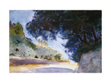 Landscape, Olive Trees, Corfu, 1909 Giclee Print by John Singer Sargent