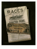 Races, Saratoga, Ten Dollar Bill Giclee Print by Nicolas Alden Brooks