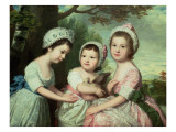 Caroline, Samuel Graeme and Catherine Marsh, C.1770S Giclee Print by Catherine Read