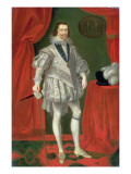 Portrait of George Villiers, 1st Duke of Buckingham Giclee Print by Daniel Mytens