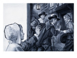 John Milton Is Led Away by Friends to a Tactical Imprisonment Giclee Print by Paul Rainer