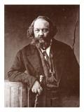 Mikhail Alexandrovitch Bakounine, C.1865 Giclee Print by  Nadar