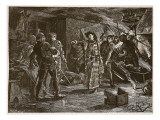 Arrest of the Conspirators at Cirencester Giclee Print by Charles Ricketts