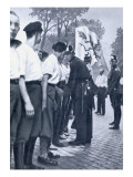 Sa Members are Searched by Prussian Police in Berlin Giclee Print by  German photographer