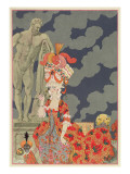 Fashion at its Highest, 1927 Giclee Print by Georges Barbier