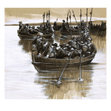 The Scots and Irish Defy Cromwell, 1963 Giclee Print by Ron Embleton