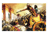 Sennacherib, King of Assyria, Besieging Jerusalem Giclee Print by  McConnell