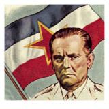 President Tito of Yugoslavia Giclee Print by  English School