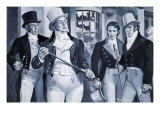 Beau Brummell and Prince Regent Giclee Print by Paul Rainer