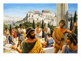 Athens&#39; Crowning Glory, from &#39;The Golden Age&#39; Giclee Print by Payne 